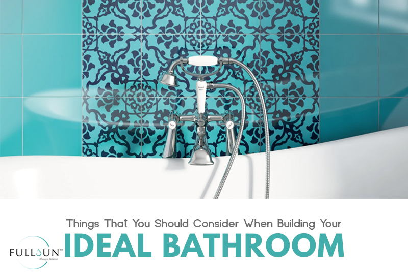 to find the balance between creating a beautiful bathroom and achieving a well-functional one, here are some tips that you can follow.