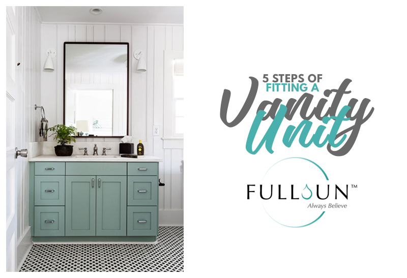 A worn-out sink and vanity can really be a sore thumb. Opt for a new sink or vanity as this one change can make a big difference.