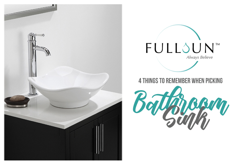 You have to consider a lot of thing to make sure that you made the suitable choice for you and your home. This is true even for something seemingly as mundane as a bathroom sink,