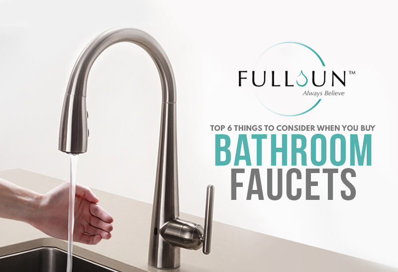 This where you realize that choosing any sanitary ware and fittings for your bathroom, even something as small as faucet, requires a lot of thought.