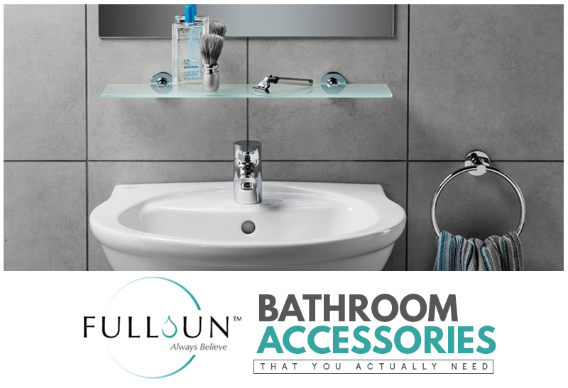 Aside from sanitary wares and fittings, it's also important that you pick the right bathroom accessories. Not only because they add to a bathroom's charm