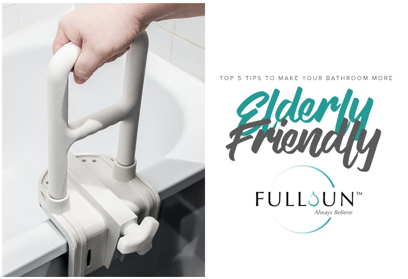 Top 5 Tips To Make Your Bathroom More Elderly Friendly