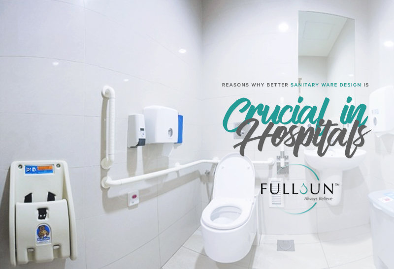 Choosing sanitary ware and fittings for hospital use can literally be a life or death decision and is a responsible decision to make.