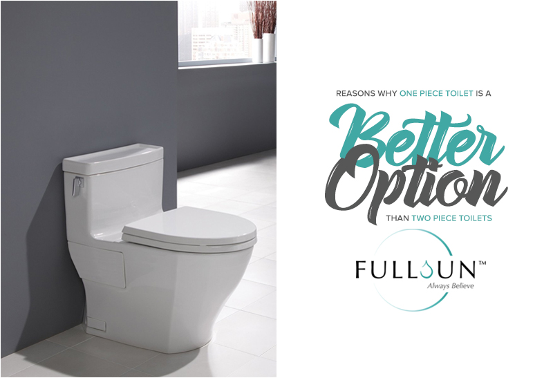 TOTO One Piece toilet comes with advanced cleaning technologies such as Tornado Flush and CeFiOntect that ensures the toilet remains stain-free with minimal