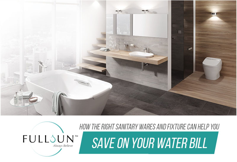it doesn't end with buying the right sanitary wares and fixtures in your bathroom. It's also important that you keep up with their maintenance.