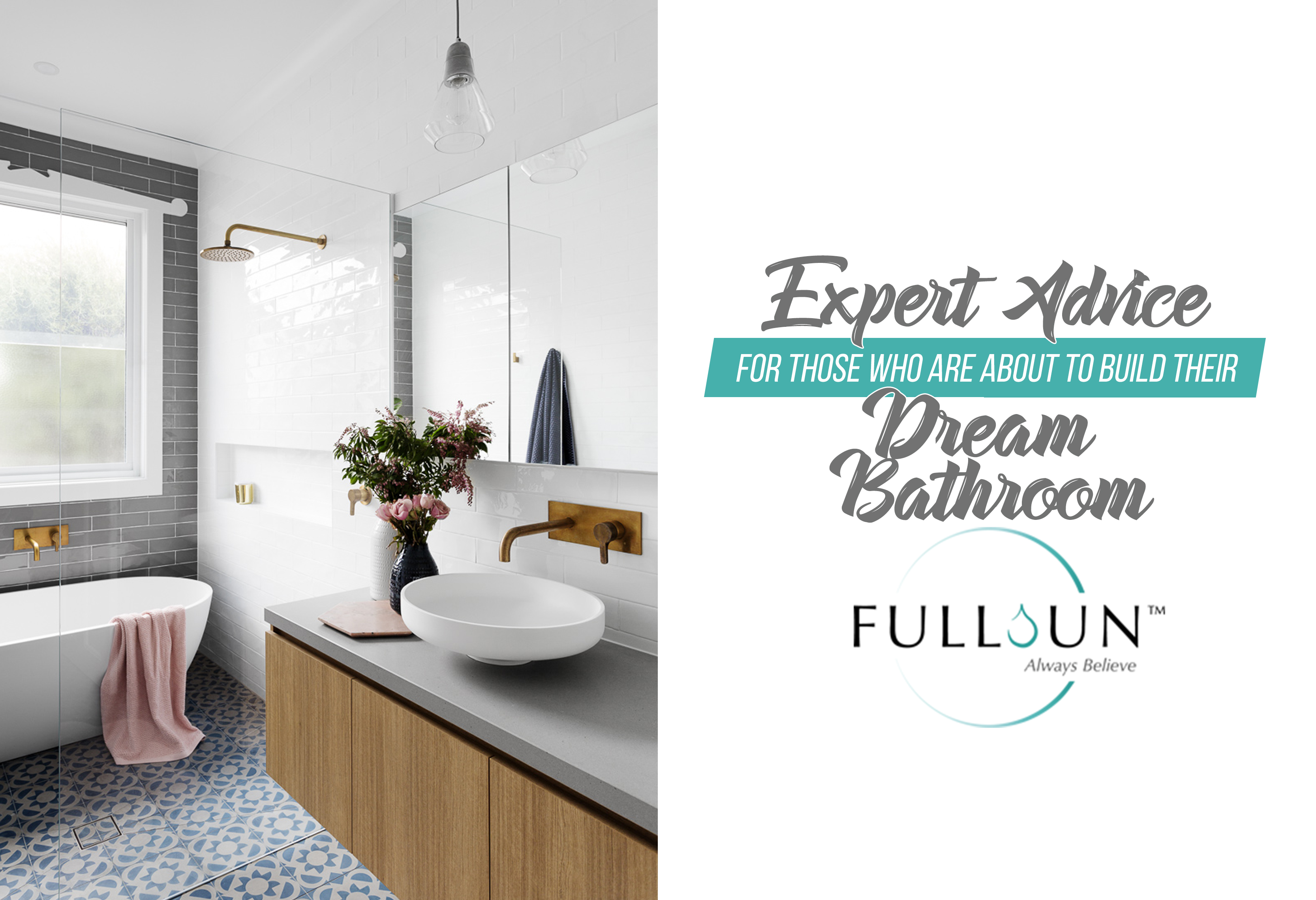 With all the pretty bathroom inspiration you can see online, especially on social media, it can be a challenge to choose the bathroom unit that will suit