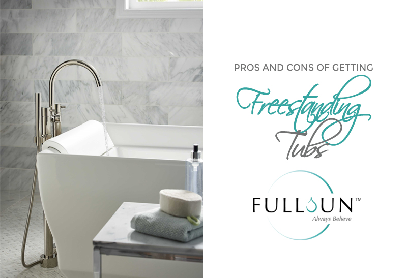 Since freestanding tubs are available in various styles which gives you a lot of flexibility in choosing one you really like aesthetically-wise