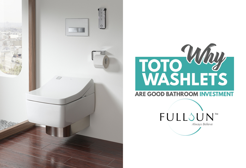 TOTO washlets has EWATER+ technology which is an antibacterial liquid, you no longer need to use any other chemical when cleaning the toilet.