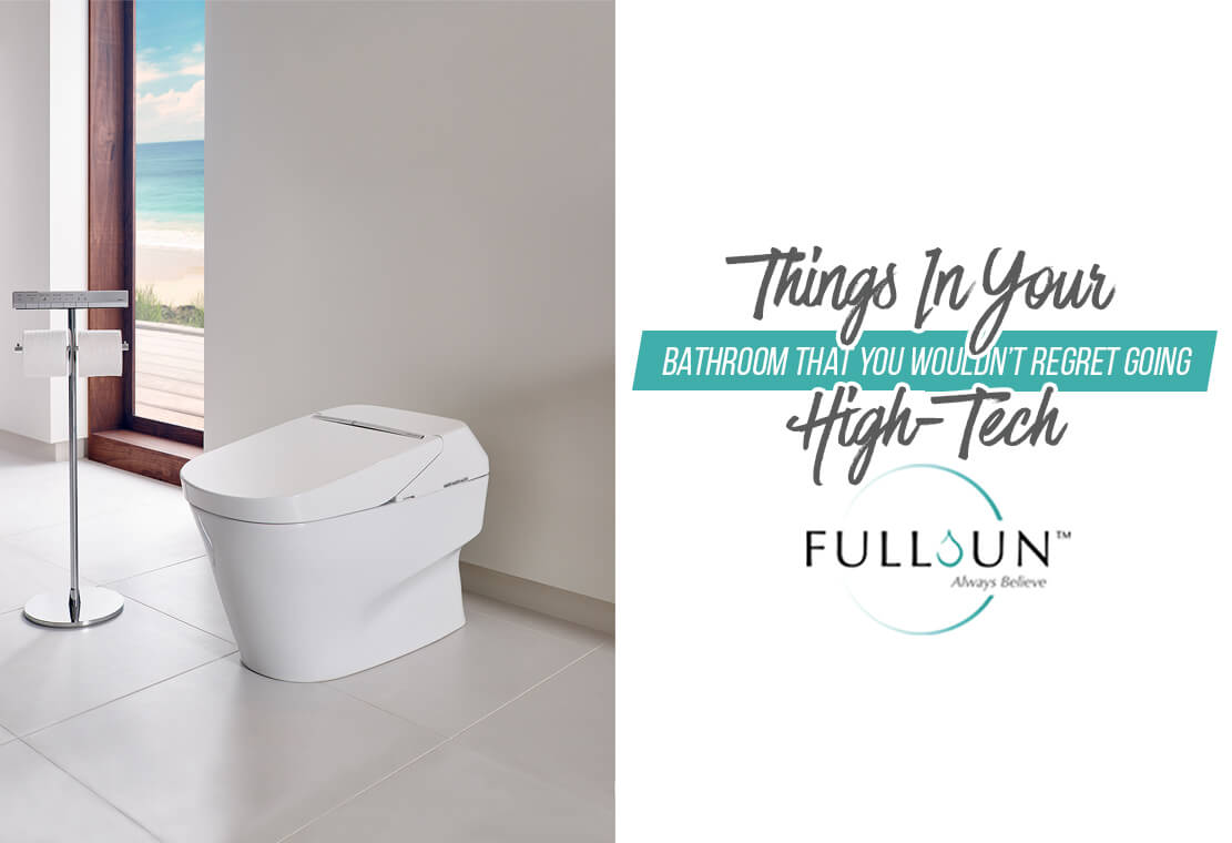 Things In Your Bathroom That You Wouldn't Regret Going High-Tech